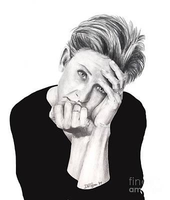 Drawing - Ellen Degeneres by Devin Millington