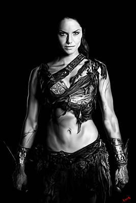 Spartacus Digital Art - Ellen by Fotis