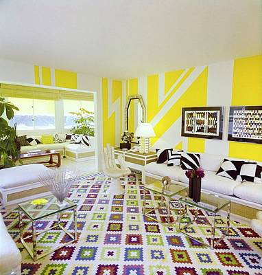 Photograph - Ellen Lehman Mccluskey's Living Room by Horst P. Horst