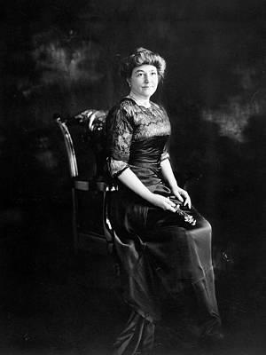 Photograph - Ellen Louise Axson Wilson (1860-1914) by Granger