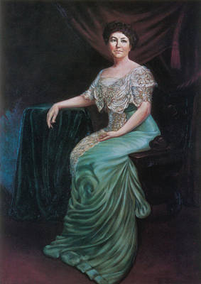 Painting - Ellen Wilson, First Lady by Science Source