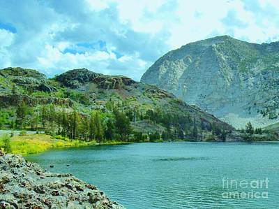 Art Print featuring the photograph Ellery Lake by Marilyn Diaz