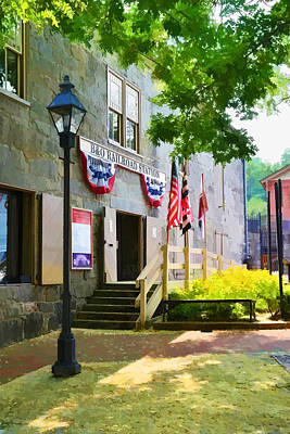 Art Print featuring the photograph Ellicott City Station by Dana Sohr