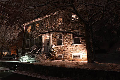 Photograph - Ellicott House by Dana Sohr