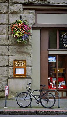 Photograph - Elliott Bay Cafe by Wayne Meyer