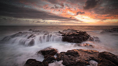 Photograph - Elliott Cascade 2 by Brad Grove