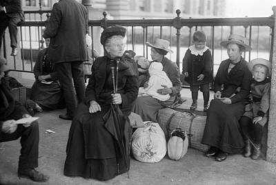 Photograph - Ellis Island, C1910 by Granger