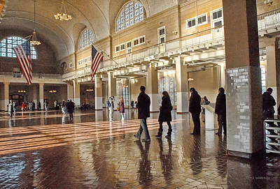 Photograph - Ellis Island Immigration Museum by Dyle   Warren