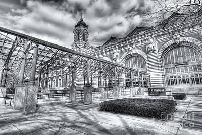 Photograph - Ellis Island Immigration Museum IIi by Clarence Holmes