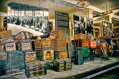 Photograph - Ellis Island Museum by Dyle   Warren