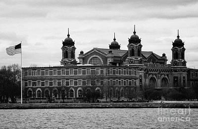 Ellis Island New York City Art Print