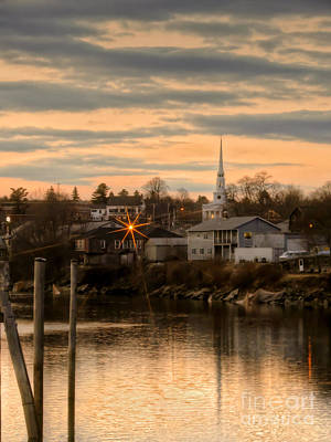 Photograph - Ellsworth Sunset by Karin Pinkham