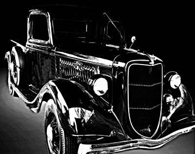 Photograph - Elmer Ingles Ford Truck 5767 by Amber Summerow