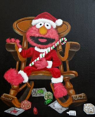 Painting - Elmo  by Susan Roberts