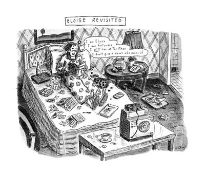 Eloise Revisited Art Print by Roz Chast