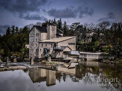 Photograph - Elora Mill Inn by Ronald Grogan
