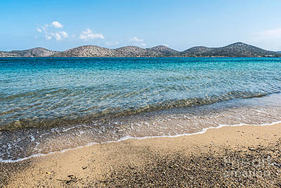 Photograph - Elounda Beach by Luis Alvarenga