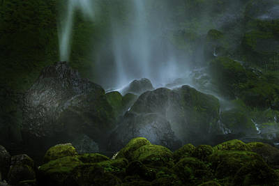 Photograph - Elowah Falls by Jean-Jacques Thebault