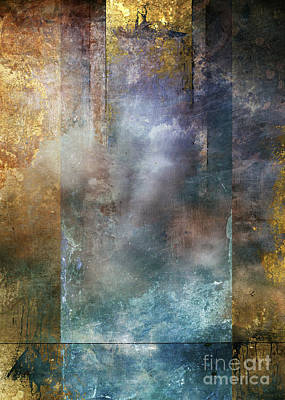Golden Digital Art - Elsewhere by Aimee Stewart