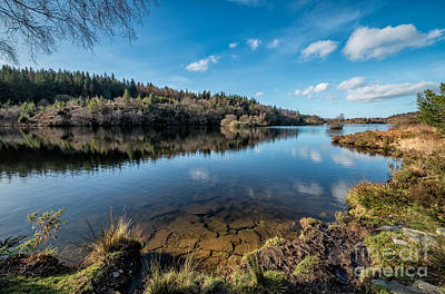 Lakes Digital Art - Elsi Reservoir by Adrian Evans