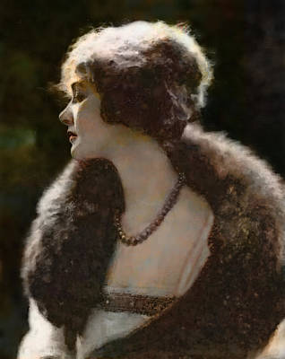 Elsie Ferguson Art Print