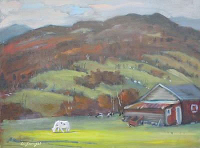 Painting - Elsie by Len Stomski