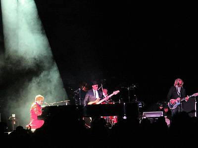 Photograph - Elton And Band by Aaron Martens