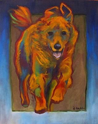 Elton Colors Art Print
