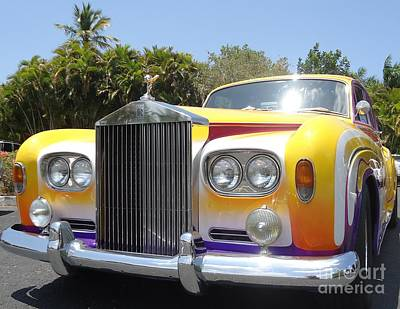 Elton John's Old Rolls Royce Art Print by Barbie Corbett-Newmin
