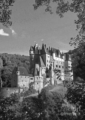Photograph - Eltz Castle Germany 12 by Rudi Prott