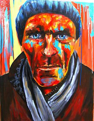 Painting - Elude Au Fond D Un Couloir by Bazevian