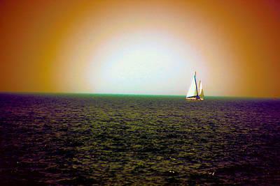 Elusive Sails Art Print