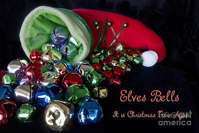 Photograph - Elves Bells by Photography by Laura Lee