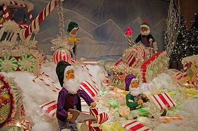 Photograph - Elves Candy Factory  by Susan McMenamin