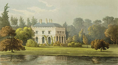 Idyllic Drawing - Elvills, Englefield Green by Frederick Wilton Litchfield Stockdale