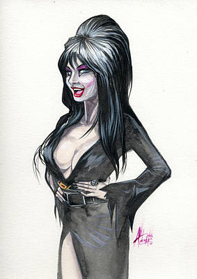 Elvira I Art Print