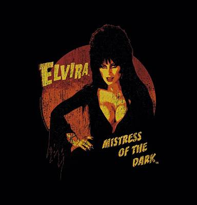 Horror Digital Art - Elvira - Mistress Of The Dark by Brand A