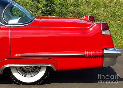 Photograph - Elvis - 1956 Cadillac by John Waclo