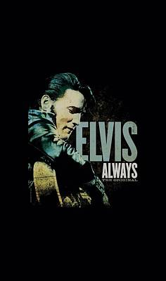 The King Digital Art - Elvis - Always The Original by Brand A