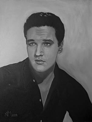 Painting - Elvis by Antonio Marchese
