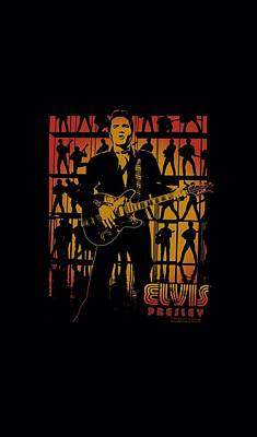 The King Digital Art - Elvis - Comeback Spotlight by Brand A