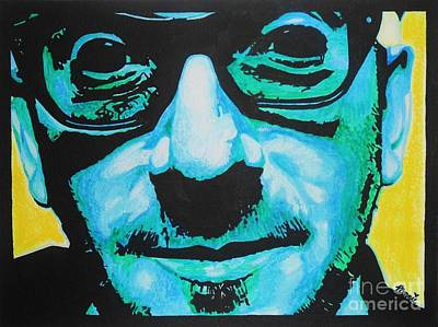 Mixed Media - Elvis Costello by Bonnie Cushman