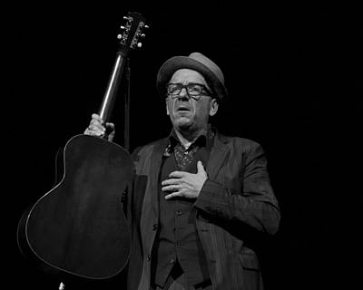 Photograph - Elvis Costello by Jeff Ross