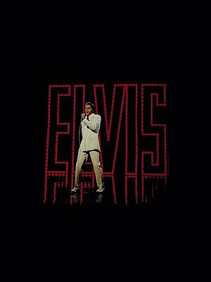 The King Digital Art - Elvis - Elvis 68 Album by Brand A