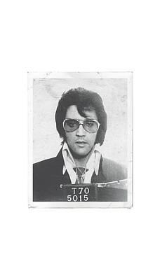 The King Digital Art - Elvis - Framed by Brand A