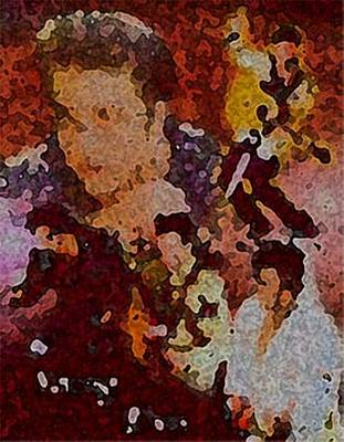 Elvis Immortalized Original by Acesio Amavi