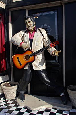Photograph - Elvis In The Doorway by Denise Mazzocco
