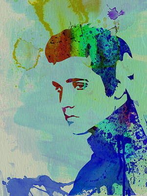 Rock And Roll Mixed Media - Elvis by Naxart Studio