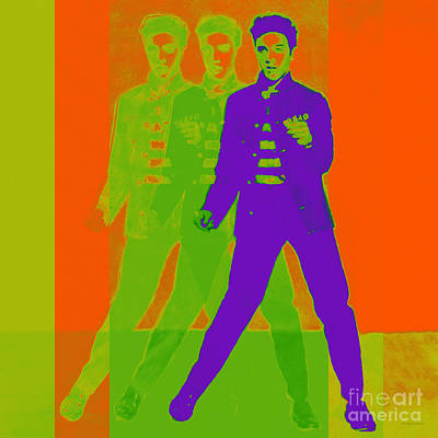 Elvis Jail House Rock 20130215m28 Art Print by Wingsdomain Art and Photography