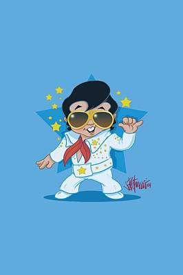 The King Digital Art - Elvis - Jumpsuit by Brand A